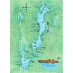 Kezar Lake Cruise Map